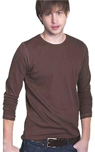 Cotton Heritage Men's Long Sleeve Baby Thermal