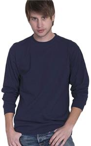Cotton Heritage Men&#39;s Long Sleeve Crew Tee