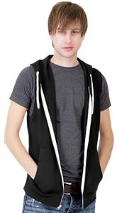 Cotton Heritage Unisex Sleeveless Zip Hoody Fleece