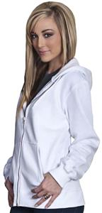 Cotton Heritage Unisex Zipper Hooded Fleece