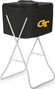 Picnic Time Georgia Tech Yellow Jackets Party Cube