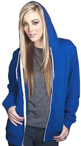 Cotton Heritage Unisex Zipper Hood Fleece