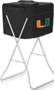 Picnic Time University of Miami Party Cube
