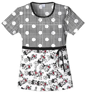 Cherokee Tooniforms Minnie In Stitches Scrub Tops