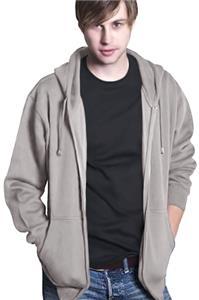 Cotton Heritage Men's Comfort Zipper Hooded Fleece