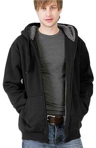 Men's Fleece Jacket with Sherpa Living