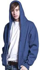 Men's Full Zip Hooded California Fleece