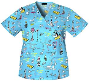 Cherokee Tooniforms McGrew's Zoo Scrub Tops
