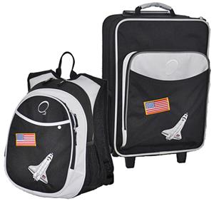Kids Luggage & Backpack Set Space