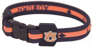 Eagles Wings NCAA Auburn Titanium Sport Bracelets