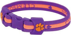 Eagles Wings NCAA Clemson Titanium Sport Bracelets