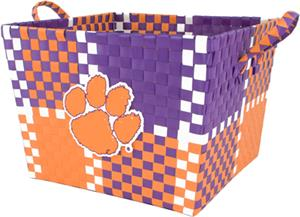 Eagles Wings NCAA Clemson Woven Basket