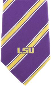 Eagles Wings NCAA LSU Woven Poly 1 Tie