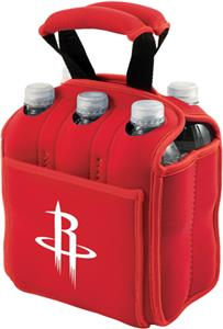Picnic Time NBA Rockets 6-Pack Beverage Holder
