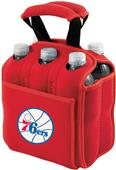 Picnic Time NBA 76ers 6-Pack Beverage Holder