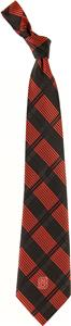 Eagles Wings NCAA NC State Woven Plaid Tie