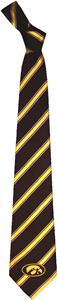 Eagles Wings NCAA Iowa Woven Poly 1 Tie