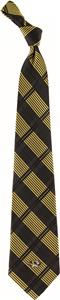 Eagles Wings NCAA Missouri Woven Plaid Tie