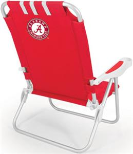 Picnic Time University of Alabama Monaco Chair