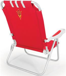 Picnic Time Arizona State Monaco Beach Chair