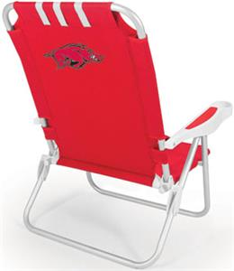 Picnic Time University of Arkansas Monaco Chair