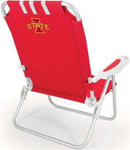 Picnic Time Iowa State Cyclones Monaco Beach Chair