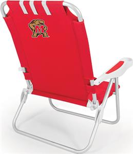 Picnic Time University of Maryland Monaco Chair