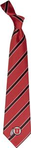 Eagles Wings NCAA Utah Woven Poly 1 Tie