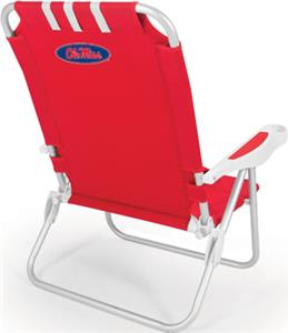 Picnic Time University of Mississippi Monaco Chair