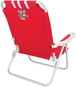 Picnic Time University of Wisconsin Monaco Chair