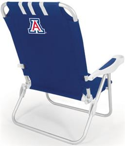 Picnic Time University of Arizona Monaco Chair