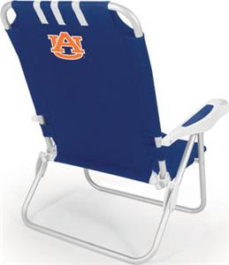 Picnic Time Auburn University Tigers Monaco Chair