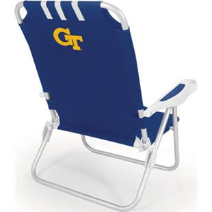 Picnic Time Georgia Tech Monaco Beach Chair