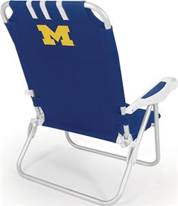 Picnic Time University of Michigan Monaco Chair