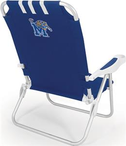 Picnic Time University of Memphis Monaco Chair