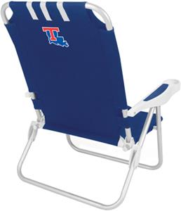 Picnic Time Louisiana Tech Bulldogs Monaco Chair