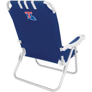 Picnic Time Louisiana Tech Bulldogs Monaco Chair