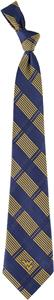 Eagles Wings NCAA West Virginia Woven Plaid Tie