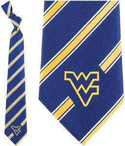 Eagles Wings NCAA West Virginia Woven Poly 1 Tie