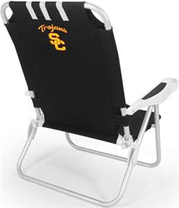 Picnic Time USC Trojans Monaco Beach Chair