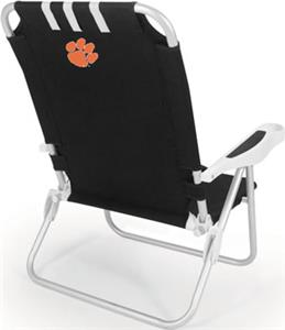 Picnic Time Clemson University Tigers Monaco Chair