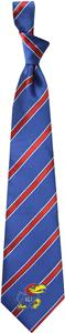 Eagles Wings NCAA Kansas Woven Poly 1 Tie