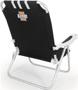 Picnic Time University of Illinois Monaco Chair