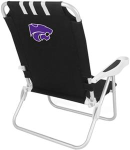Picnic Time Kansas State Wildcats Monaco Chair