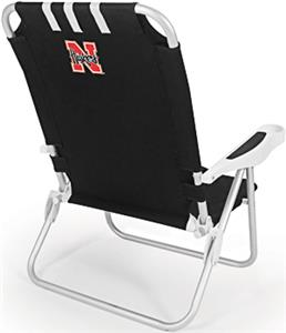Picnic Time University of Nebraska Monaco Chair