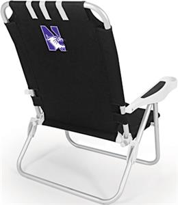 Picnic Time Northwestern University Monaco Chair