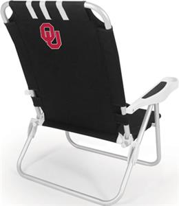 Picnic Time University of Oklahoma Monaco Chair
