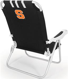 Picnic Time Syracuse University Monaco Chair
