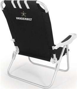Picnic Time Vanderbilt University Monaco Chair
