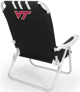 Picnic Time Virginia Tech Hokies Monaco Chair